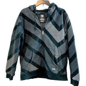 Quicksilver Quilted Zip Jacket